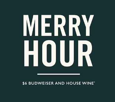 Merry Hour at Merrywell bar and Dining Illustration
