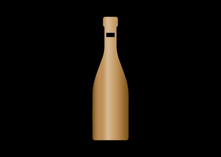 illustration of a champagne bottle
