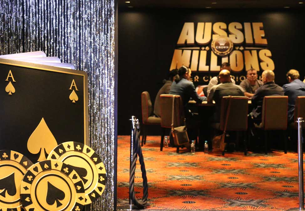 2018 Aussie Millions Warm-Up Week - Poker Tournament at Crown Melbourne