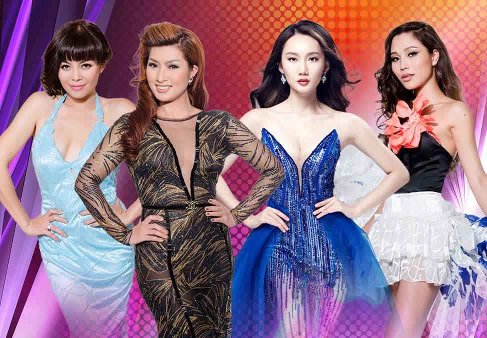 Paris By Night Female Stars promoting Vietnamese culture 2018