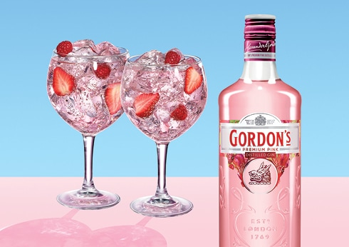 Gordon's Premium Pink Cocktails