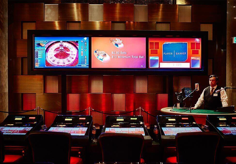 Crown Melbourne Gaming Semi Automated Table Games