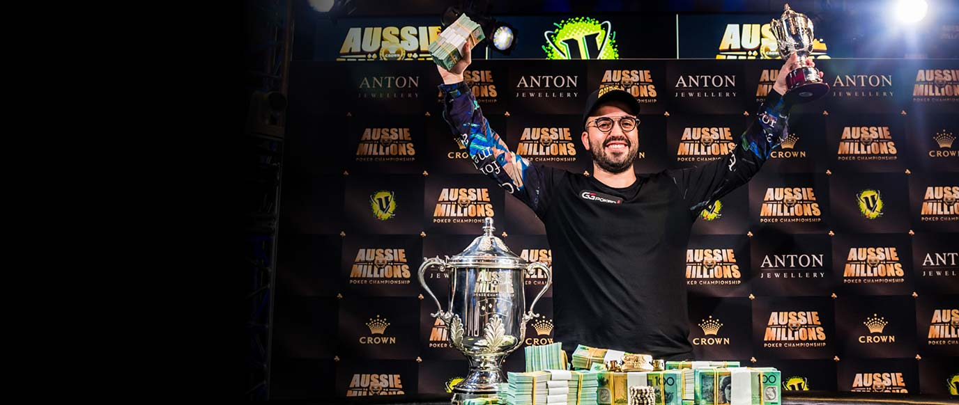 2019 Aussie Millions Main Event Winner