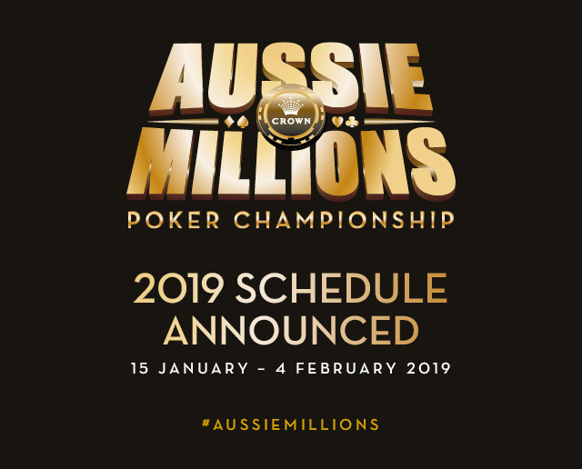 Crown Melbourne Gaming Aussie Millions