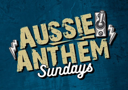 aussie anthem sundays event at groove bar