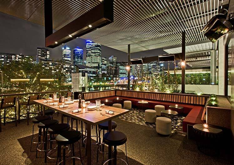 The Merrywell West Terrace Function Space