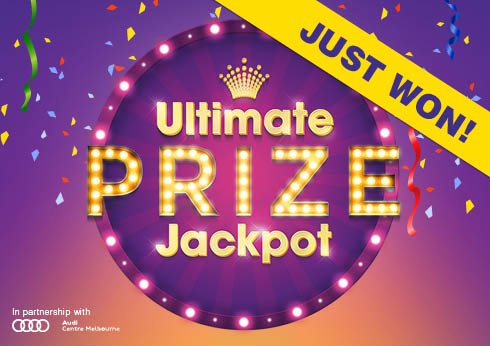 Ultimate Prize Jackpot Winner - Crown Melbourne