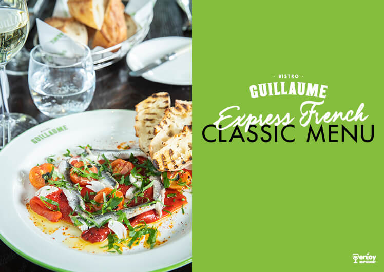 express menu dishes at bistro guillaume crown melbourne