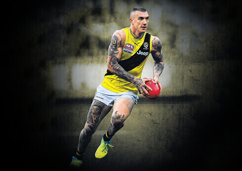 Dustin Martin Running AFL