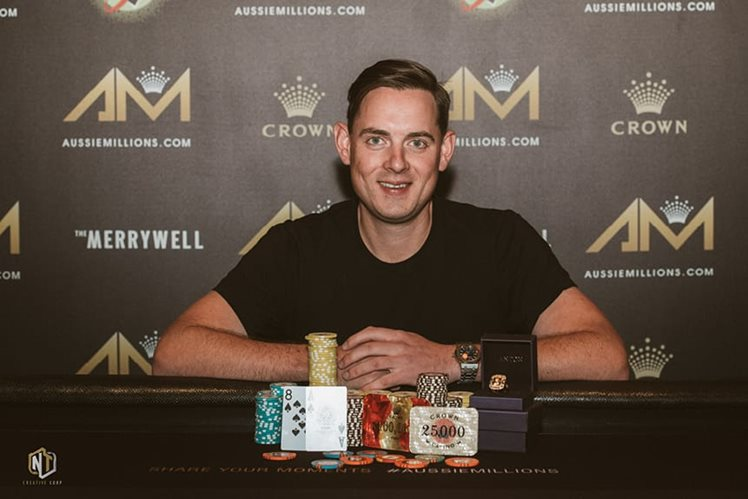 Aussie Millions Poker Championships - Toby Lewis