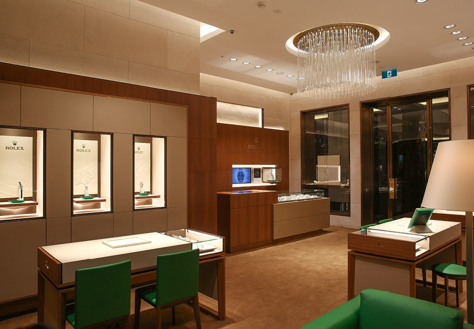 Rolex Store Personalised
