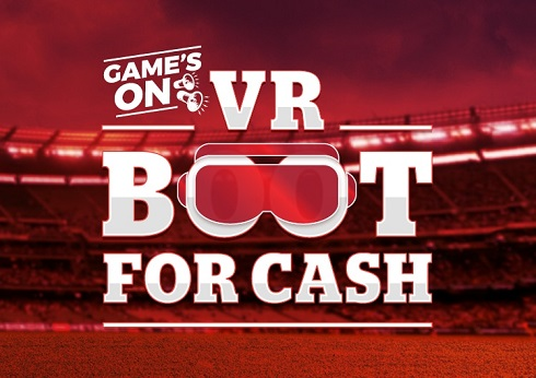 Virtual Reality Boot For Cash
