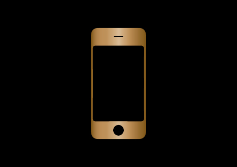 illustration of an iphone