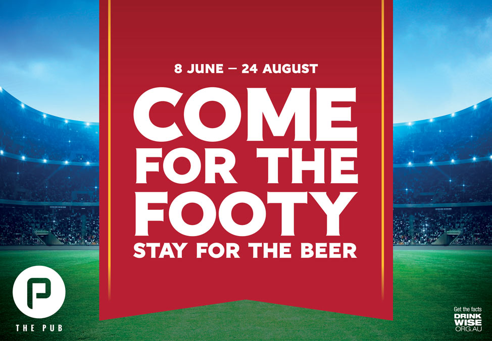 Footy Fridays at The Pub