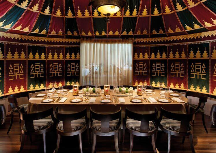 Private Dining at Silks Restaurant Melbourne