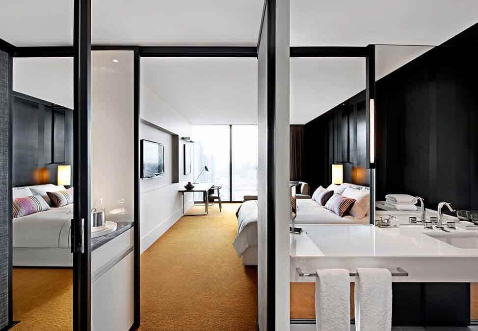 Melb Hotels CrownMetropol CityLuxeKing Room