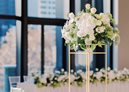Bouquet of flowers on table at crown melbourne events and conferences
