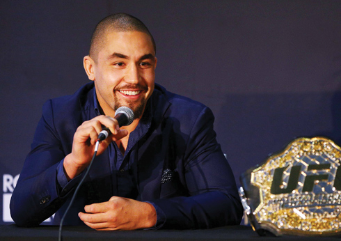 Rob Whittaker: Up Close at Personal