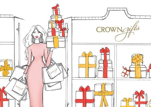 Crown Gifts Christmas Shopping
