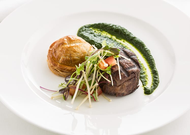 steak pie salad lunch package crown melbourne events conferences
