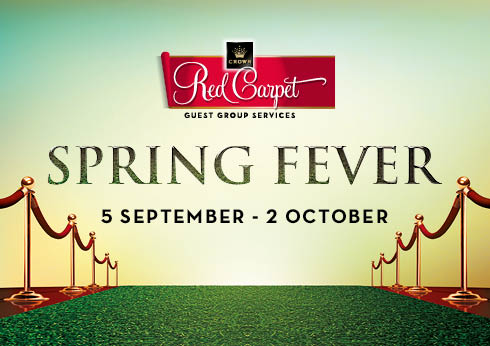 Crown Melbourne Gaming Red Carpet Program Spring Fever Competition