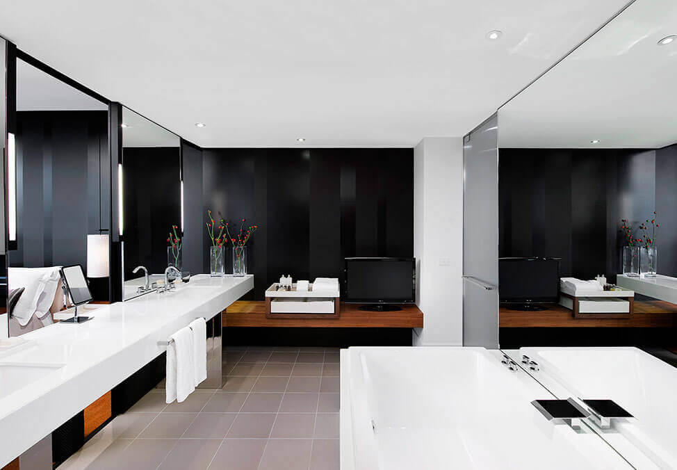 Melb Hotels CrownMetropol Loft Bathroom