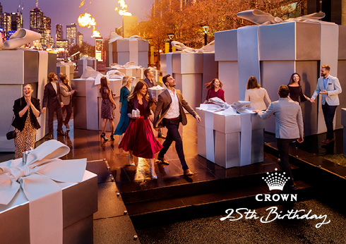 Crown Melbourne's 25th Birthday