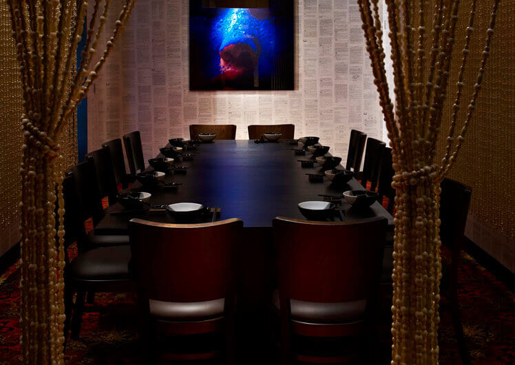 Spice Temple Private Functions & Dining Rooms