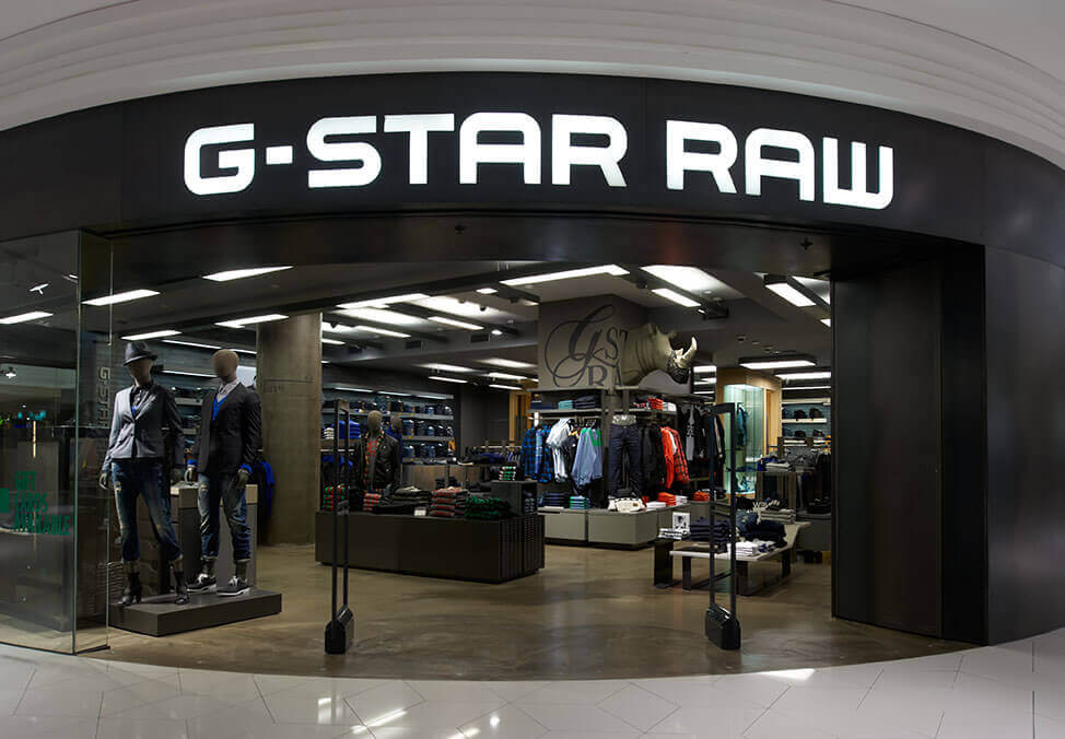 Melb Shopping Clothing GStarRaw ShopFront