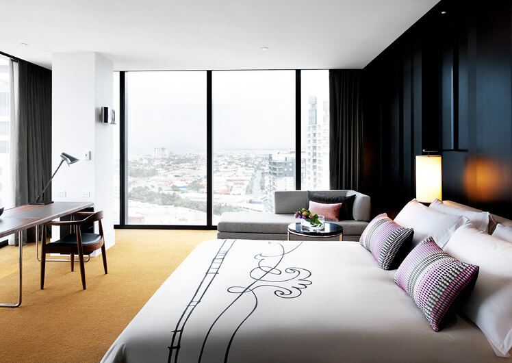 Crown Metropol Melbourne Deluxe Room