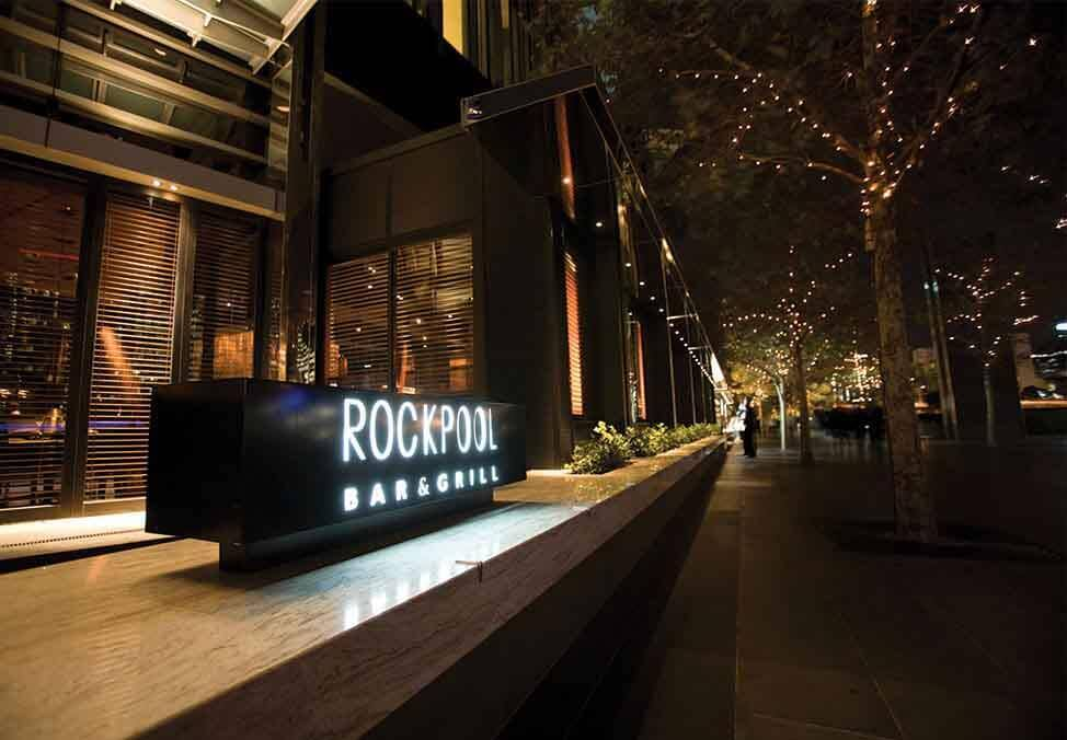 Melb Restaurants Premium Special Offers Rockpool Wine Bar