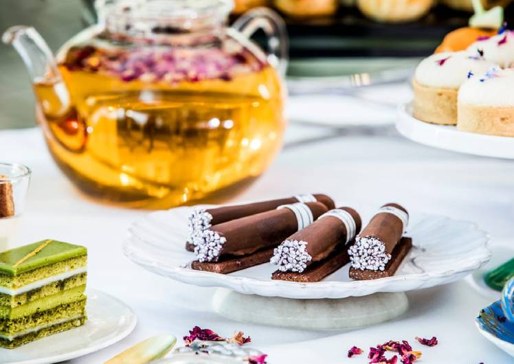 infused high tea at the conservatory crown melbourne