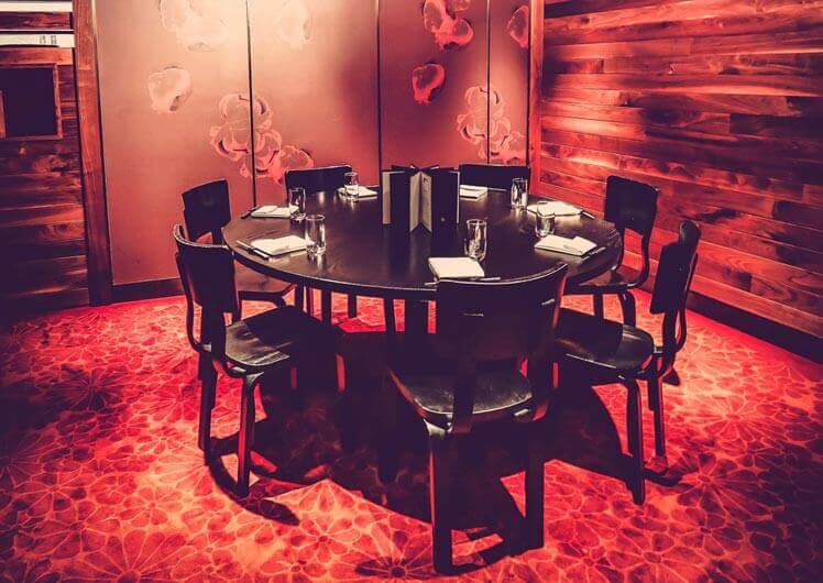 Nobu Private Functions & Dining Rooms