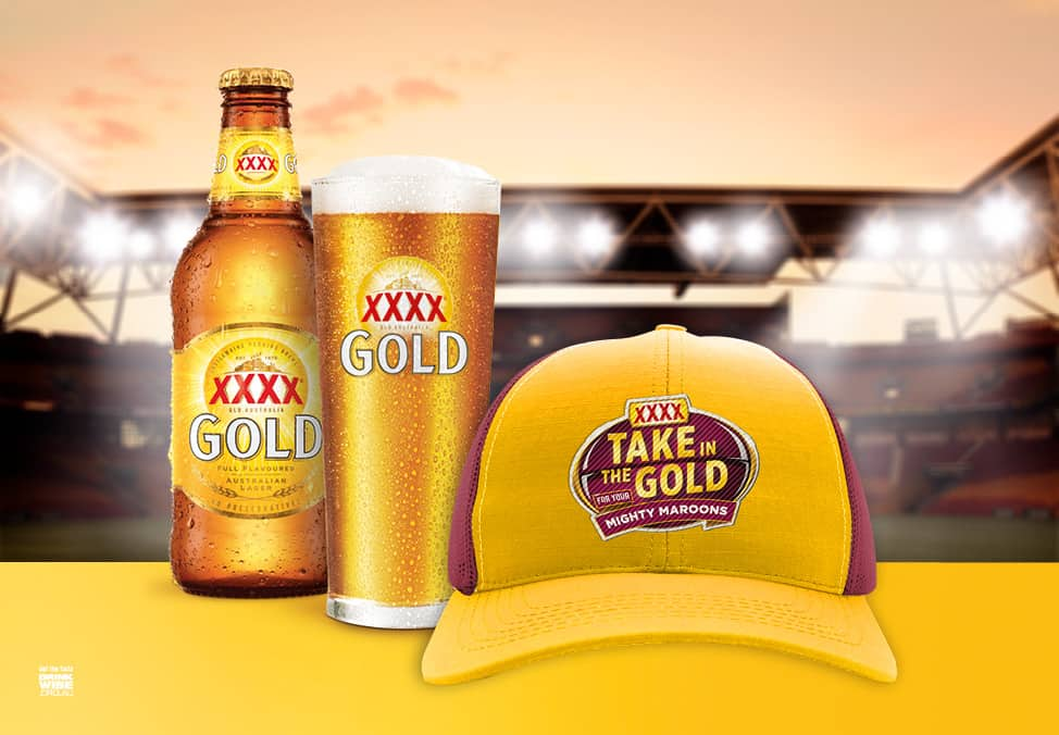 Taste the Glory with XXXX GOLD at Lagerfield and Crown Melbourne Sports Bar