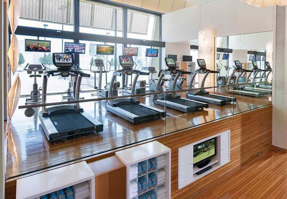 Melb Hotels CrownTowers Facilities Gym