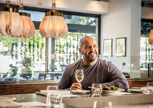 chef brahimi guillaume at bistro guillaume