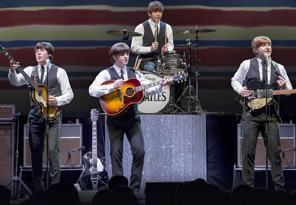 The Bootleg Beatles perform live at The Palms - Crown Melbourne