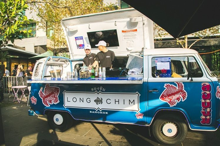Long Chim pop up van for Melbourne Food and Wine Festival