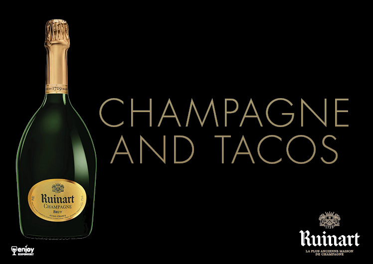 Nobu Champagne and Tacos withVeuve Cliquot Ponsardin 2008 champagne