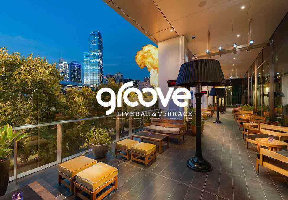 Groove Live Terrace Bar, Located in Casino - Crown Melbourne