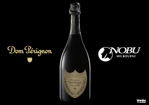 Champagne and Tacos with dom perignon at nobu
