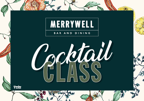 cocktail making classes at merrywell bar and dining