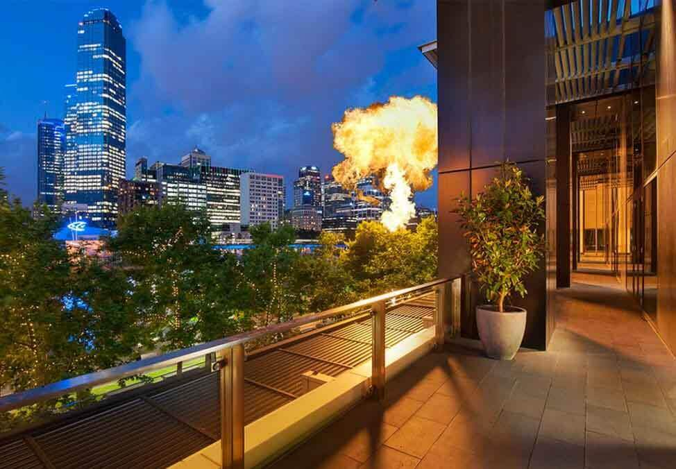 Melb EventsFunctions Venues River Room Balcony Tables