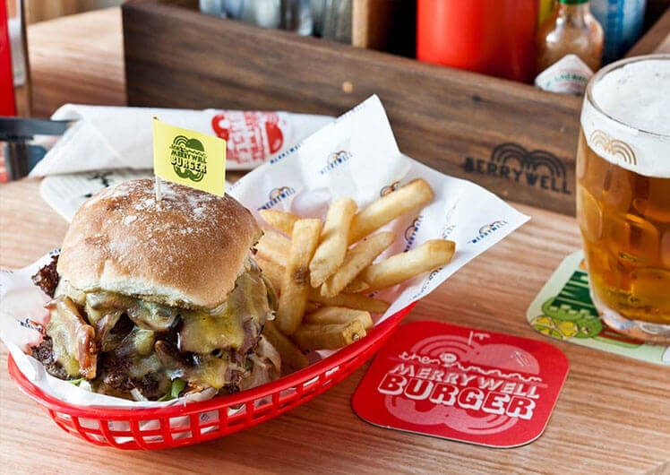The Merrywell Oz Burger