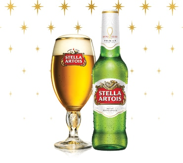 Christmas in July with Stella Artois