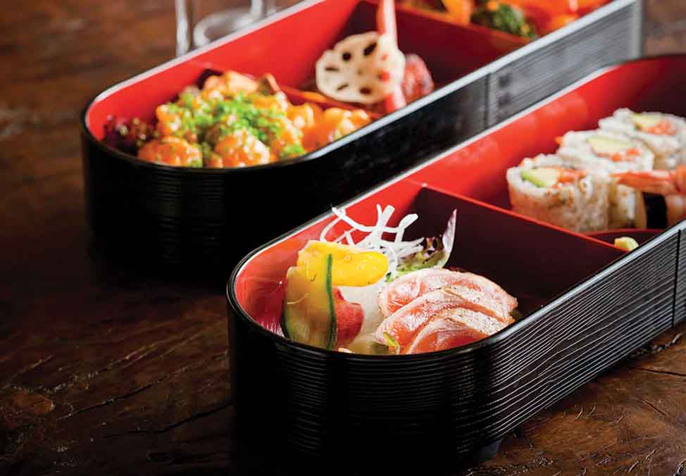 Melb Restaurants Premium Nobu BentoBox 974x676