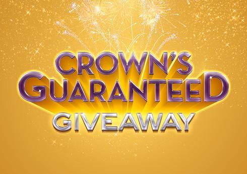 Crown's Guaranteed Giveaway Promotion - Crown Melbourne