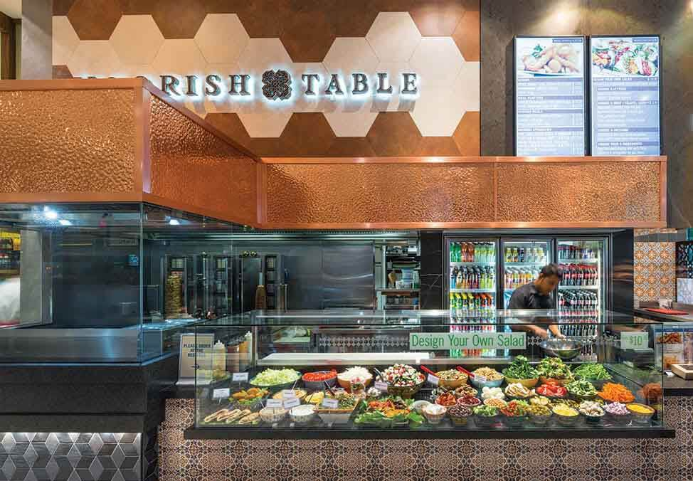 Melb Restaurants Food Court Moorish Table Seafood Quad