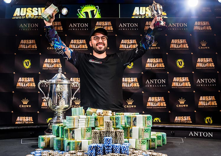 Aussie Millions Poker Championships Crown Melbourne winner