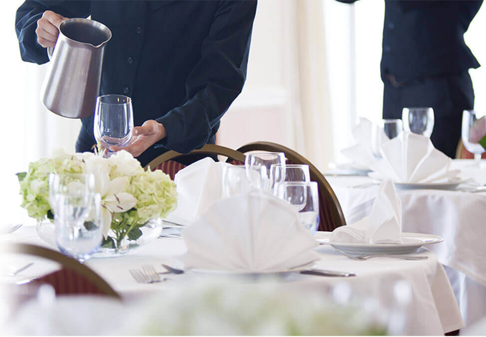 Melb EventsFunctions Offering Services TableService